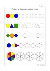 Pattern Geometriche Pregrafismo - The Form - geometriche Pattern Geometriche Pregrafismo - The Form Preschool Learning Activities, Preschool Worksheets, Kindergarten Math, Kids Learning, Math Patterns, Pre Writing, Math For Kids, Kids Education, Kids And Parenting