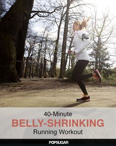It's Belly-Shrinking Time! 40-Minute Sprinting and Walking Workout