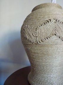 vase avec triangles décoration cm 45