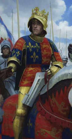 Richard III at the Battle of Bosworth by Graham Turner