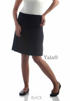 Be dainty or go rugged with this classic A-line Bamboo Dreams® Short Skirt. Gathered side seams create the illusion of a ruffled hem for a feminine touch. Wide waistband provides an edgier look. It's made of 95% bamboo, a thermo-regulating fabric which makes it ideal for any kind of weather. 5% spandex hugs the body for a sexier silhouette and provides just the right amount of stretch for a wider range of movement—perfect for ladies on-the-go!