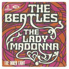 Lady Madonna/The Inner Light single sleeve - France, 1968  #BeatlesArchive #ThrowbackThursday  http://gnikn.us/ExploreBeatles