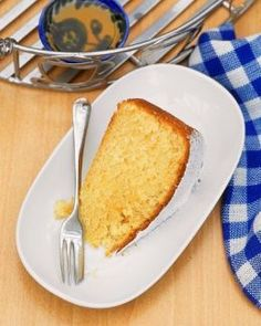 Orange Sponge Cake (from Weight Watchers Recipes)