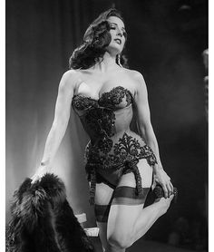 Dita Von Teese performs at the Pheonix Theatre in Toronto, Canada on February 20, 2016.