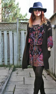 boho style Over 40 fashion for the stylish woman.