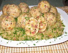 Tiroler Knödel Gf Recipes, Slow Cooker Recipes, Vegetarian Recipes, Recipies, Cooking Recipes, Austrian Recipes, Dumplings, Potato Salad, Side Dishes