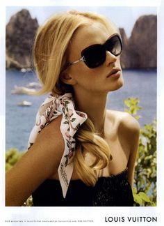 Summer look for Louis Vuitton Ad #fashionphoto
