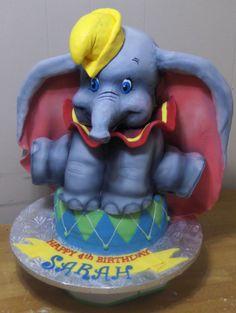 3D Dumbo the Elephant Cake