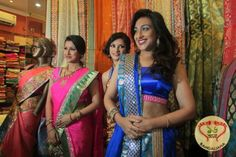 Designer Wedding Collection launched by Tollywood Divas Rituparna Sengupta and Rachana Banerjee.. http://fashion.sholoanabangaliana.in/designer-wedding-collection-launched-by-tollywood-divas-rituparna-sengupta-and-rachana-banerjee/