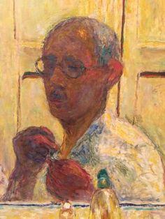 Bonnard, self-portrait