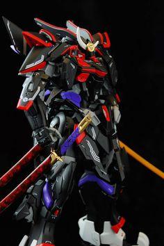MG 1/100 Blitz Gundam Samurai Custom Build - Gundam Kits Collection News and Reviews