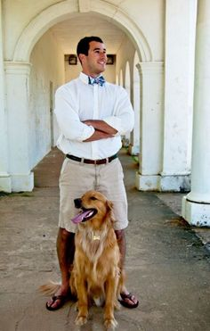 Prep life and a Golden Retriever #Prep #Preppy