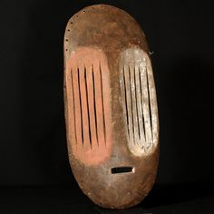 682: Mbole Mask : Collected by Jean Pierre Hallet