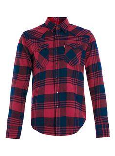Levi's Red Check Shirt | TOPMAN