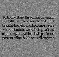 I will reach my goals...