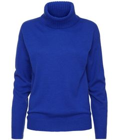 Strenesse - Damen Rollkragenpullover in Electric Blue #fashion #trends #engelhorn