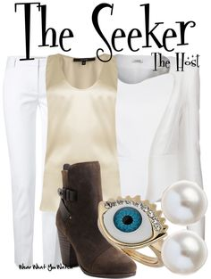 Inspired by Diane Kruger as The Seeker in 2013's The Host.