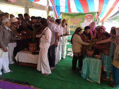 Ashram Barmer (Raj.) Me Bade dum dham se Manaya Tulsi Pujan Divas