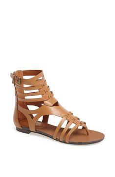 Return of the leather gladiator sandal!