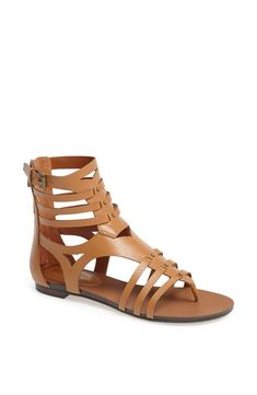 Return of the leather gladiator sandal!