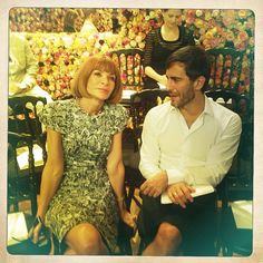 Dior Fall 2012 Couture with Anna Wintour + Marc Jacobs
