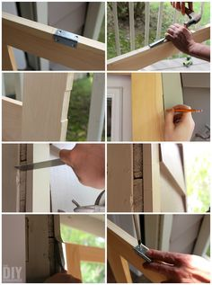 Building a screen door is a great DIY project that will add beautiful character to your home. Learn how to build a screen door with this tutorial. Wood Screen Door, Wood Doors, Wooden Screen, Screen Doors, Woodworking Square, Woodworking Kits, Diy Sliding Barn Door, Diy Door, Diy Wood Projects