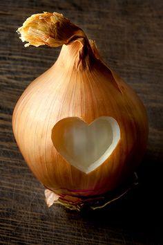 Valentine's Day with an onion ! Dites le avec un oignon !