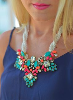 Statement necklaces make my life complete