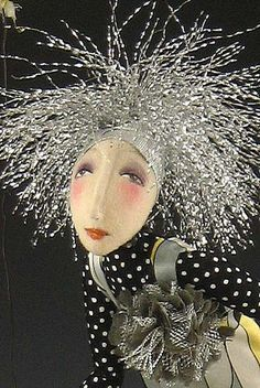 I believe this is another doll by Cindy Moyers