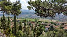 Uitzicht vanaf Volterra