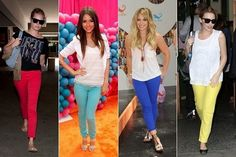 Colorful Collection Of Denim Jeans For Women 2013-I'm going to try wearing colored jeans to work & see if the world comes to an end, lol!