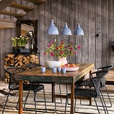 Modern Rustic Interior... LOVE!!!