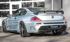 BMW M6 Gets 1,001 hp Power Kit From G POWER