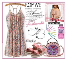 """""""Be creative with Romwe!"""" by mery-2601 ❤ liked on Polyvore featuring modern"""