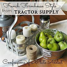 Tractor Supply for French Country Decor? Oui, Oui.