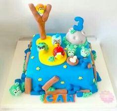 Space Angry Birds Pasta. Renkli Tatlar Butik Pasta. İletişim : 0533 668 86 80.