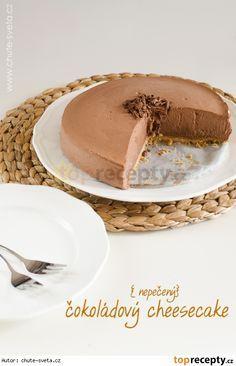 Nepečený čokoládový cheesecake s kondenzovaným mlékem Tiramisu Cheesecake, Cheesecake Cupcakes, Cheesecakes, Pavlova, Truffle, Sweet Life, Oreos, No Bake Cake, Mousse