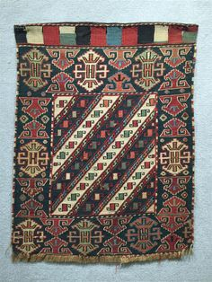 Grogan and Company | SOUMAC BAG FACE, Caucasus, late 19th century; 2 ft. 1 in. x 1 ft. 8 in.