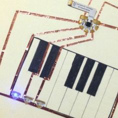 Explore Electric Circuits with creatively and innovation using simple chibitronics materials (via chibitronics)