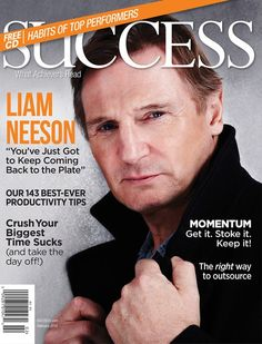 Liam Neeson на обложках журналов