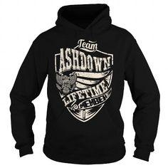 Awesome Tee Last Name, Surname Tshirts - Team ASHDOWN Lifetime Member Eagle T shirts