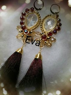 Wire Jewelry, Jewelry Bracelets, Jewelery, Beaded Jewelry, Ethnic Jewelry, Jewelry Art, Earrings Handmade, Beaded Earrings, Handcrafted Jewelry
