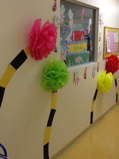 dr. Seuss prek unit: hallway decor