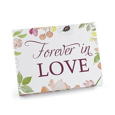 Floral Forever - Guest Book