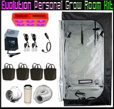 Evolution Led Plant Grow Tent Enclosure Kits