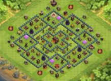 flash TH 10 Clash of Clans Base Layout
