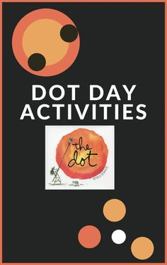 Celebrate Dot Day with these Dot Day Activities to go with Peter H. Reynold's book, The Dot.  Lots of early literacy ideas! #internationaldotday #bookactivities #growingbookbybook Library Activities, Kids Learning Activities, Writing Activities, Toddler Activities, Literacy Skills, Early Literacy, The Dot Book, International Dot Day, Book Projects