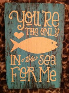 Totally getting this for my friend's fish themed wedding!