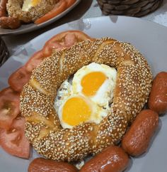 Bagel, Doughnut, Bread, Breakfast, Desserts, Food, Morning Coffee, Tailgate Desserts, Deserts
