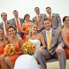 Wedding Ideas by Color: Orange   Orange wedding colors, Weddings and ...